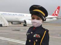 7 Yaşındaki Lösemi Hastası Meryem'in Pilot Olma Hayali Gerçek Oldu