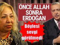 Dilber Ay'dan Erdoğan için şok sesleniş