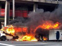 Belçika'daki Protestolar AB Kurumlarının Önüne Sıçradı