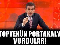 Yandaşlar Fatih Portakal'ı hedef gösterdi