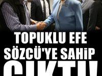 Akşener'den Sözcü gazetesine destek ziyareti
