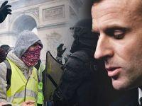 Macron'dan geri adım