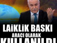 Nihat Hatipoğlu, 'laiklik' ile ilgili düşüncelerini açıkladı