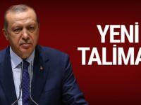 Erdoğan'dan yeni talimat : Resmen başlandı