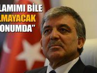 AKP'li isimden Abdullah Gül'e şok sözler