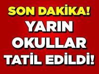 Ankara'da öğrencilerin beklediği tatil haberi