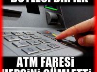 ATM'lerin açığını yakaladı ve tüm ATM'leri boşalttı