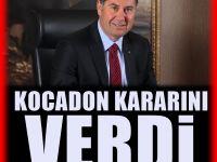 Ve Kocadon kararını verdi!