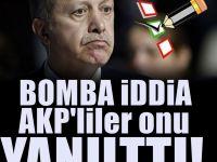 şok iddia AKP'liler Erdoğan'ı Yanılttı: