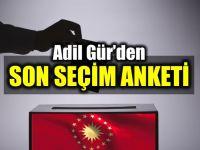 Adil Gür'den Ankara ve İstanbul tahmini : İki ilde de önde