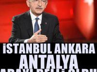 Canlı yayınla CHP'nin İstanbul ve Ankara adaylarını duyurdu