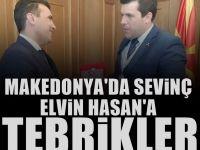 Elvin Hasan Makedonya Devlet Bakanı oldu