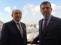 İstanbul Büyükşehir Belediye Başkan Adayı İmamoğlu'ndan Topbaş'a Ziyaret