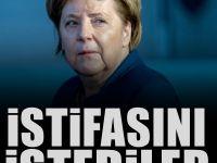 Almanya'da Merkel'e kötü haber! Ankette şok sonuçlar