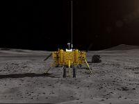 Çin'in İnsansız Keşif Aracı Ay'ın Karanlık Yüzüne İndi