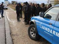 Jandarma En Çok Düzensiz Göçmeni Edirne'de Yakaladı