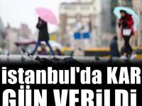Flaş! İstanbul'da Yarın Kar Bekleniyor