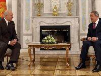 Bakan Akar ile Belarus Cumhurbaşkanı Lukaşenko Bir Araya Geldi
