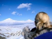 'Türkiye'nin Çatısı' Ağrı Dağı'nda Görsel Şölen