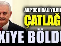 AKP'de Binali Yıldırım çatlağı