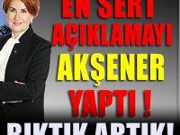 Meral Akşener: Biz bu dilden bıktık artık