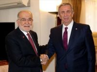 Mansur Yavaş'tan Saadet Partisi Genel Başkanı Karamollaoğlu'na Ziyaret