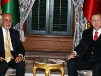 Cumhurbaşkanı Erdoğan'dan Afganistan Cumhurbaşkanı Gani'ye Taziye Mesajı
