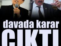 Meral Akşener'in Semih Yalçın'a açtığı davada karar
