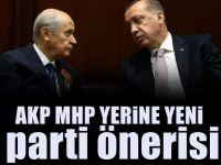 MHP: AKP ile birleşelim yeni partinin adı da...