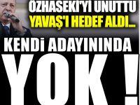 Özhaseki'yi unuttu Yavaş'ı hedef aldı...