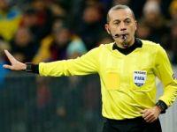 FIFA Kokartlı Hakem Cüneyt Çakır Porto-Roma Maçını Yönetecek