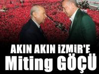 Cumhur İttifakı'nın mitingi için İzmir'e göç ettiler