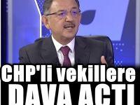 Mehmet Özhaseki'den CHP'li iki vekile dava