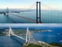 Yavuz Sultan Selim Köprüsü ile Osmangazi Köprüsü Birbirine Bağlanıyor