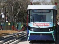 İstanbul'un İlk Katenersiz Tramvay Hattında Test Sürüşleri Başladı