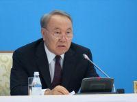 Kazakistan Cumhurbaşkanı Nazarbayev'den Halka Teşekkür