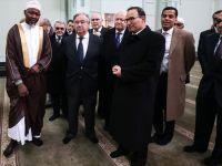 Guterres New York'ta Cami Ziyaretinde Bulundu