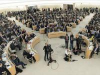 BM İnsan Hakları Konseyi'nin Oturumuna İsrail'e Tepki Damga Vurdu
