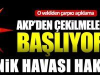 AKP'den çekilmeler mi başlıyor? O vekilden çarpıcı açıklama!