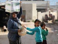 Afrin'de Bir Yılda 150 Bin Sivile İnsani Yardım