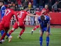 A Milli Futbol Takımı Karşılaşmayı 4-0 Kazandı