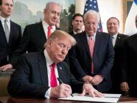 'İsrail, Golan ve Kudüs Hediyelerinin Bedelini Ağır Ödeyecek'