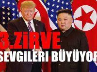 Kuzey Kore Lideri Kim, ABD başkanı Trump'la Üçüncü Zirveye Hazır