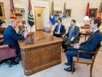 Bakan Albayrak, ABD Başkanı Trump İle Görüştü