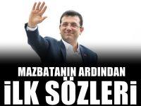 Ekrem İmamoğlu mazbatayı aldı! İşte İstanbul için İlk sözleri