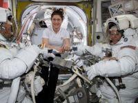 Amerikalı Kadın Astronot Christina Koch UUİ'de 11 Ay Kalacak