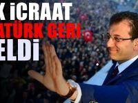 İmamoğlu ile birlikte Atatürk geri geldi! İBB'de flaş değişiklik