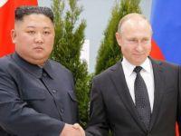 Putin ile Kuzey Kore Lideri Kim  Jong-un Bir Araya Geldi