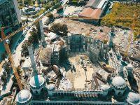 Ege Bölgesi'nin En Büyük Camisinin Yapımı Sürüyor