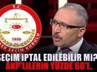 Abdulkadir Selvi YSK'nın kararını ne zaman açıklayacağını duyurdu